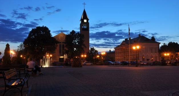 Sochaczew - Plac Kościuszki
